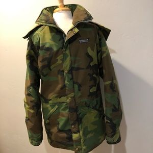 Wilderness Experience Gore-Tex Camo Jacket